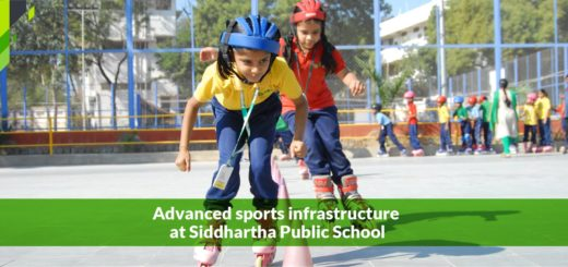 Advanced Sports Infrastructure at Siddhartha Public School at Hyderabad