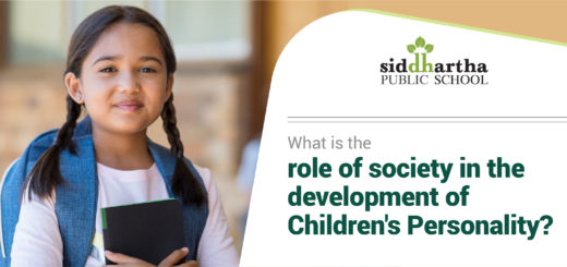 Role of society in the development of children's personality