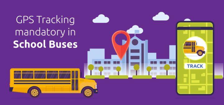 GPS Tracking mandatory in school buses