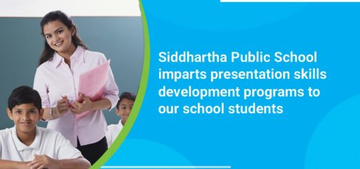 Presentation Skills development programs to our School students
