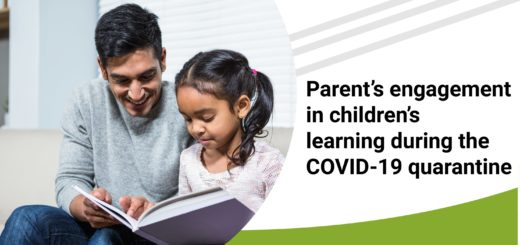 Parent's engagement in children's learning during the COVID-19 quarantine