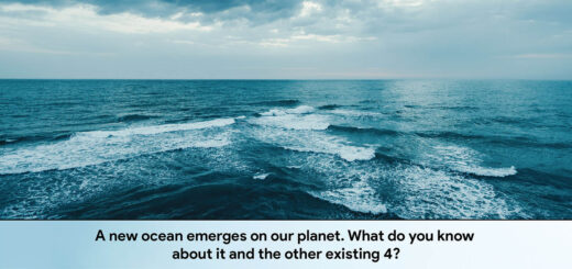 A new ocean emerges on our planet. What do you know about it and the other existing 4?
