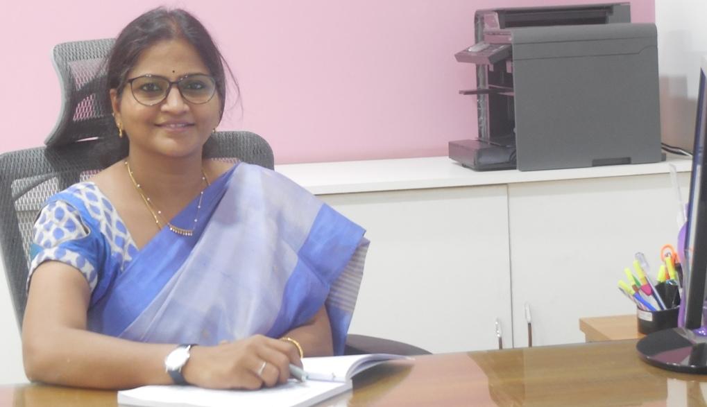 Ms . Anuradha Murthy , M.A. , M.Ed. PGCTE(EFLU)